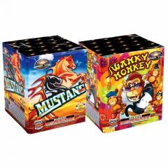 Swanky Monkey & Mustang