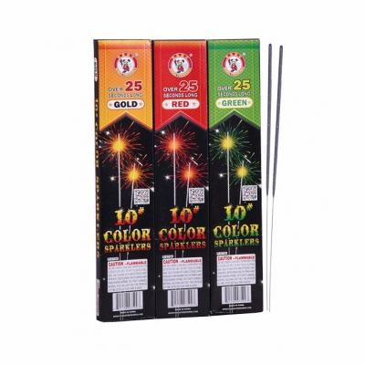 10 inch Color Sparklers